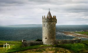 O'Brien's Tower, County Clare, Ireland, Castle, Atlantic Coast, Ocean