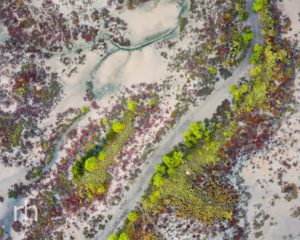 Port Access Road, Townsville, Aerial, Drone, Mudflats, Salt Pan